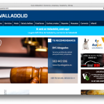 Capura de pantalla - Guía Valladolid