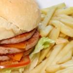 Platos combinados y hamburguesas