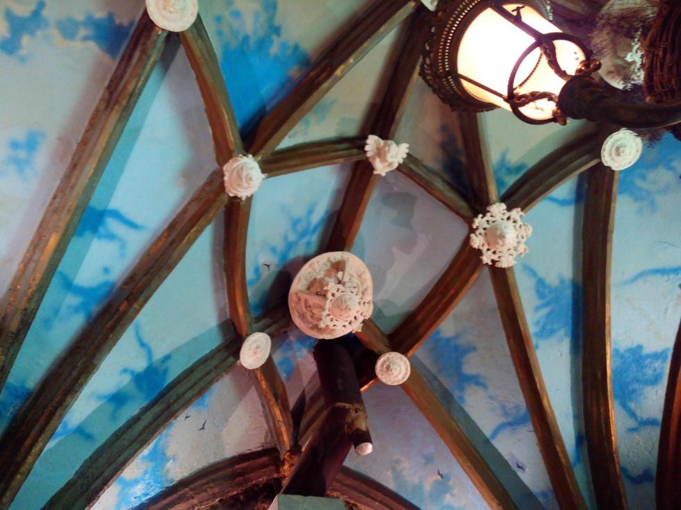 Detalle capilla Restaurante El Alboroque