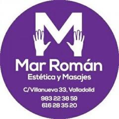 Logotipo estetica Mar Roman