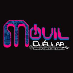Logotipo de Móvil Cuéllar. Daisy Phone